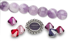 Swarovski Crystal Assorted Color Packs--Passion and Complimentary Beads