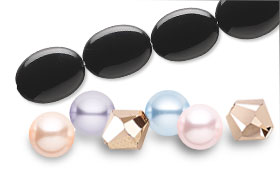 Swarovski Crystal Assorted Color Packs--Tenderness and Complimentary Beads