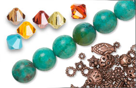 Swarovski Crystal Assorted Color Packs--Sonoran and Complimentary Beads