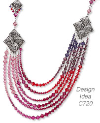 Multi-Strand Necklace and Earring Set