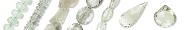Green Quartz Beads and Components