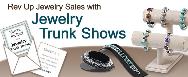 Rev Up Jewelry Sales with Trunk Shows