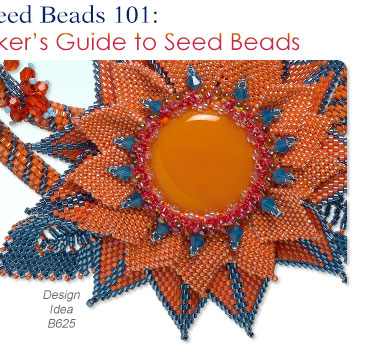 Jewelry Making Article Seed Beads 101 A JewelryMakers Guide to