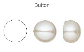 Button (Pearls Only)