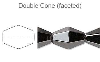 Double Cone (Faceted)