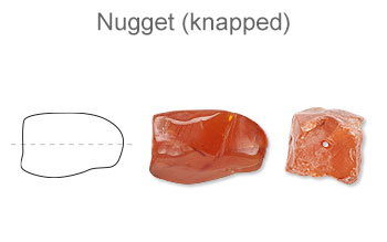Nugget (Knapped)