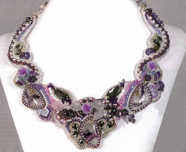 Projects Single Strand Necklace With Seed Beads Czech