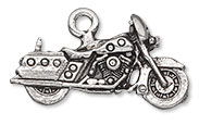 Item Number 3244FD Motorcycle Charm