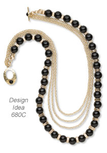 Style Snapshot: Black and Gold Combos in Jewelry