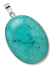 Item Number 8862NB Magnesite Pendant