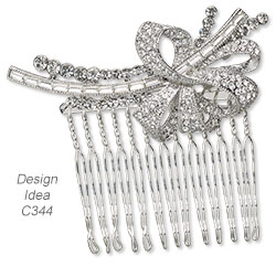 Style Snapshot: Crystal-Chic Jewelry--Clear is Here to Stay