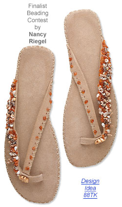 Style Snapshot: Embellish Flip-Flops with Jewelry