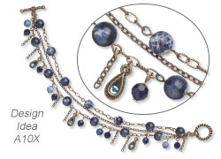 Style Snapshot: Interspersing PROMO beads into Your Regular Designs, Extending Your Expensive Purchases