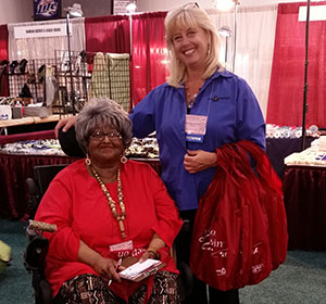 Michelle Welcomes Barbara, Who Joins Us Yearly At The Show