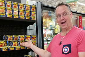 Almost Ecstatic, Tom Discovers Endless SPAM® Flavors At Walmart