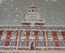 Mosaic of Connecticut Capital Building