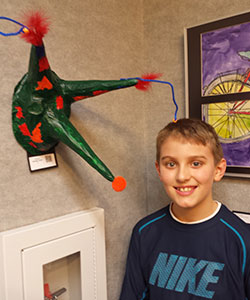 Waupaca Public Library Housed Youth Art Month Student Art