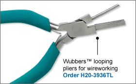 Wubbers™ Looping Pliers For Wireworking