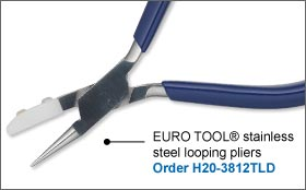 EURO TOOL® Stainless Steel Looping Pliers