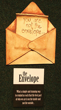 The Envelope Signage