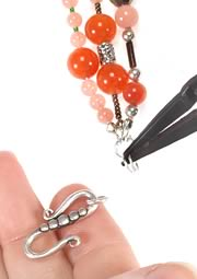 jewelry design triplestrand necklace with malaysia