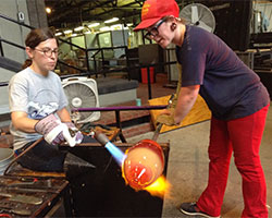 Making Glass Art