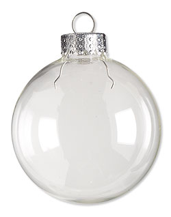 Item Number H20-2883GF Glass Ornament