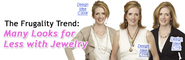 The Frugality Trend: Many Looks for Less with Jewelry