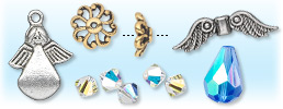 Angel Jewelry Components