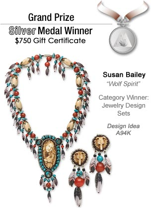 Design Idea A94K Necklace and Earrings