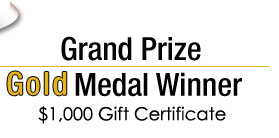 Grand Prize Gold Medal Winner: Melissa J. Lee