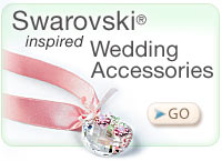 Swarovski inspired Wedding Accessories