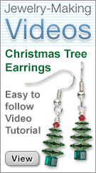 View Christmas Tree Earrings How To Videos