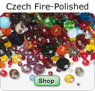 Bulk Czech Fire-Polished Beads