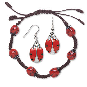 Ladybug Finished Jewelry