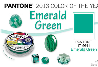 Pantone 2013 Color of the Year: Emerald