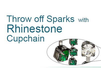 Style Snapshot: Throw off Sparks with Rhinestone Cupchain