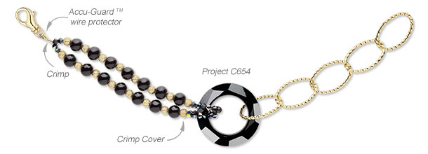 Design Idea C654 Necklace and Bracelet Set