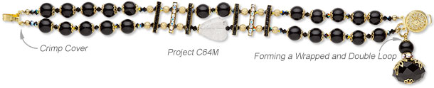 Design Idea C64M Bracelet and Earring Set