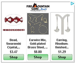 Fire Mountain Gems and Beads Ad