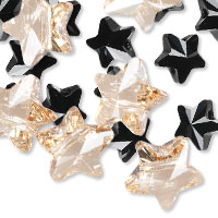 Swarovski Crystal Star-Shaped Beads