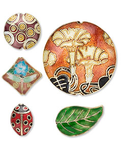 Cloisonné Beads and Components