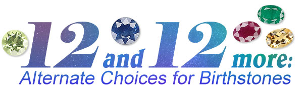 Jewelry Making Article - 12 and 12 More: Alternate Choices