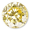 Topaz Gold Cubic Zirconia Gemstone Beads and Components