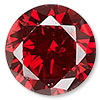 Garnet Red Cubic Zirconia Gemstone Beads and Components