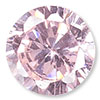 Pink Cubic Zirconia Gemstone Beads and Components