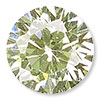 Peridot Green Cubic Zirconia Gemstone Beads and Components