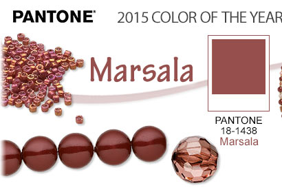 PANTONE® 2015 Color of the Year: Marsala