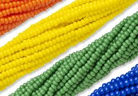 Czech Seed Beads - #6 and #8