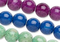 Riverstone Beads with 2mm Hole